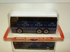 GUISVAL KLM BUS COACH the FLYING DUTCHMAN in UNOPENED CARD-BLISTER - BLUE