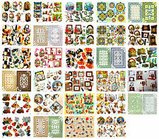Bumper bargain decoupage kit, scissors needed, 29 assorted sheets, card craft