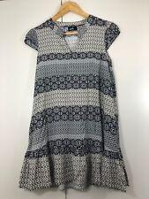 DOTTI size 6 womens black white pattern Summer casual dress