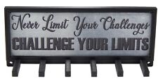 Challenge Your Limits Sports Race Medal Display Rack Holder Hanger Organizer