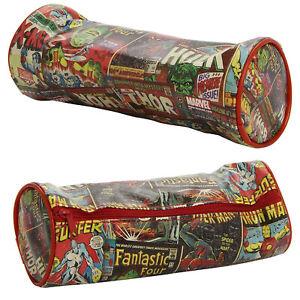 Marvel Comics Character PVC Barrel Pencil Case