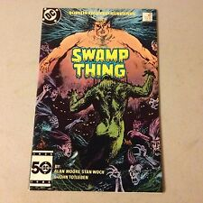 SWAMP THING #38 Copper Age comic 2nd appearance of CONSTANTINE High Grade #A37