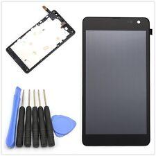 Vitre tactile Noir et écran LCD assemblés sur chassis pour Nokia Lumia 535 2S