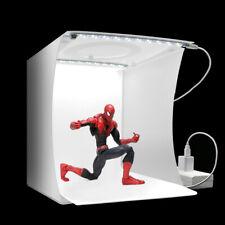 Mini 40 LEDs Photo Studio Photography Lighting Room Tent Cube Box Backgrounds 8