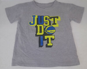 """NIKE """"Just Do It """" Graphic Tshirt - Toddler Size 6 ***EUC***"""