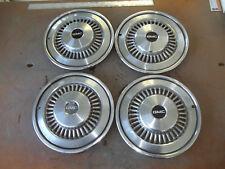"""1977 77 GMC Sprint Hubcap Rim Wheel Cover Hub Cap 15"""" OEM USED 3996 SET 4"""