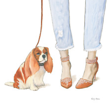 CAVALIER KING CHARLES ENGLISH TOY SPANIEL DOG FASHION POSTER FINE ART PRINT