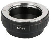 Minolta MD SR Mount Lens to Nikon 1 Mount Camera Lens Adapter Ring