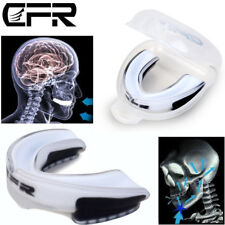 CFR Gel Gum Mouth Guard Teeth Grinding Boxing Sports Gym MouthPiece Shield Case