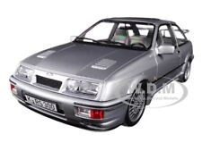 1986 FORD SIERRA RS COSWORTH GREY METALLIC 1/18 DIECAST MODEL BY NOREV 182770