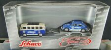 Schuco VW T1 Samba Bus + VW Käfer Rally Set Nr 71 25063 Aero Service 1:87 Sch57
