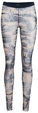 Jean Paul Gaultier for Lindex tattoo nude patterned leggings SMALL
