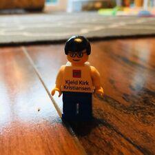 LEGO VERY RARE Kjeld Kirk Kristiansen Mini figure