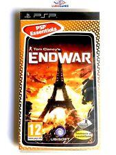 Tom Clancy Endwar PSP Playstation Nuevo Precintado Retro Sealed New PAL/SPA