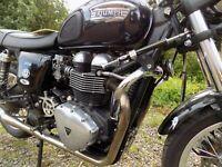 TEC Adjustable Steering damper kit  Triumph Thruxton 900 cc