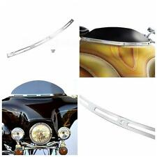 Chrome Windshield Trim Fit Harley Davidson Touring FLHT FLHX Classic 1996-2013
