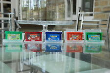 Brand New Pokemon Fire Red, Leaf Green, Emerald, Sapphire and Ruby Gameboy Games