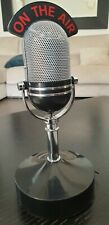 ANCIEN MICRO MICROPHONE STYLE GOOD MORNING VIETNAM 50'S 60's ON THE AIR RADIO FM