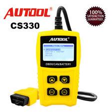 Autool CS330 OBD2 EOBD CAN Automotive Battery Tester Code Reader Diagnostic Tool