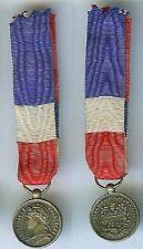 Médaille en réduction - Médaille travail ministère commerce industrie
