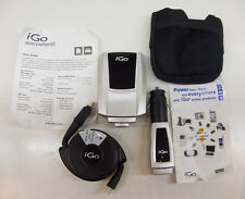 iGo Everywhere8 Universal Wall/Auto Charger &Retract. Cable w A32 Power Tip+Case