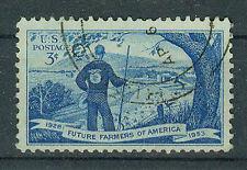 Briefmarken USA 1953 Zukünftige Farmer Mi.Nr.644