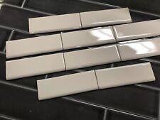 10 Bullnose Tiles American Olean  Biscuit Gloss Ceramic 2