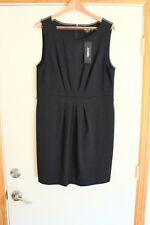 DKNY New Womens Misses  Dress SZ 16 Solid Black