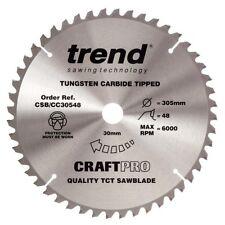 Trend CSB/CC30548 305 Mm x 30 mm 48 T Hoja de sierra de corte transversal de artesanía pro inmersión Mitre