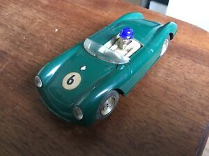 Scalextric TRIANG 1960s MM/C61.GREEN, PORSCHE - unboxed, untested