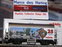 """Märklin 4415.649  Sonderwagen """"25 Jahre Werk GYÖR"""" 2018"""
