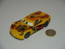 Disney Pixar Cars MIGUEL CAMINO SPANISH RACER - Larger Version scale 1:43 -