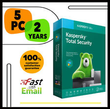 Kaspersky Total Security Antivirus 2020 - 5 PC Device 2 YEAR - GLOBAL LICENSE