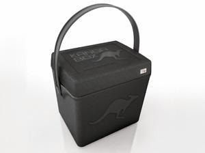 COOL BOX KANGA TRIP BLACK Thermobox high performance premium quality ice box