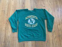 Minnesota North Stars Vintage 90's Champion Crew Womens L Rare NHL