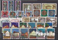 Briefmarken Liechtenstein gestempelt 1978 kompletter Jahrgang Liechtenstein gest