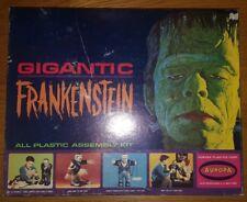 Original Aurora 1964 Gigantic Frankenstein Model Kit