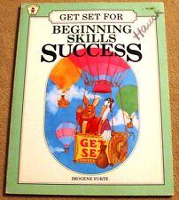 Get Set for Beginning Skills Success ~ Imogene Forte ~ Homeschool Workbook 1985