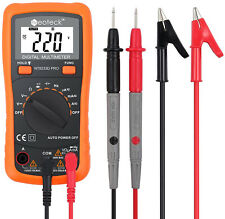 Digital Multimeter Neoteck Auto Ranging Ac Dc Voltage Multi Testers Voltmeter