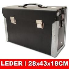 Primat Elektriker Tasche Koffer Werkzeugtasche 470 x160 x310 mm echtes Leder