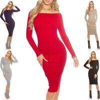 Women's Fine Knit Midi Dress - One Size (S/M/L)