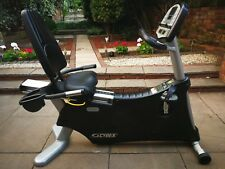 Exercise Stationary Bicycle Cybex 530R Cyclone Recumbent Bike - Gym at your home