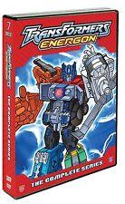 Transformers Energon . The Complete Series . Season 1 + 2 . 7 DVD . NEU . OVP