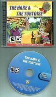 THE HARE & THE TORTOISE PC GAME Windows 95/98/2000/XP CD ROM Jewel Case2004