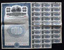 Missouri Pacific Railroad Co Sinking Fund $100 1924