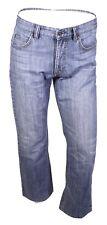 GJ13-213 Joop Robbie Herren Jeans W32 L30 blau straight leg Used-Look