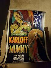 """THE MUMMY"" 1932 Lithograph S2 Art"