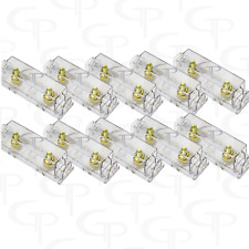 LOT OF 10 ANL Fuse block fuse holder GP Audio