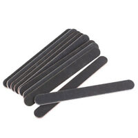 10Pcs 100/180 Round Double Sided Grit Nail Files Emery Board Makeup Tool CA