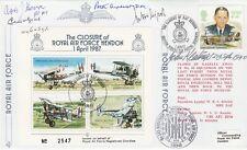 JSF10c Closure of RAF Hendon Signed B H Drobinski Polish Plus 4 all Battle of Br